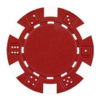 Poker Chips: 25 chip sleeve - assorted colors