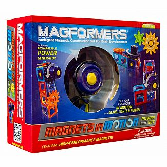 Magformers In Motion 22-Piece Power Set