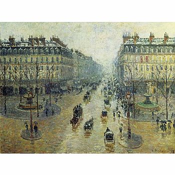 Avenue De L'Opera Paris Pissaro (Ricordi Jigsaw - 1500pc)