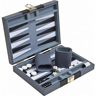 "Magnetic 9"" Backgammon Set"
