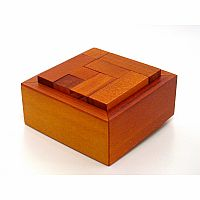 """The Cube"" Wooden Packing Puzzle"
