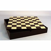 "Chessboard 16.5"" bl/map chest"