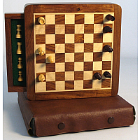 "7.5"" Magnetic Chess w/ Drawers"