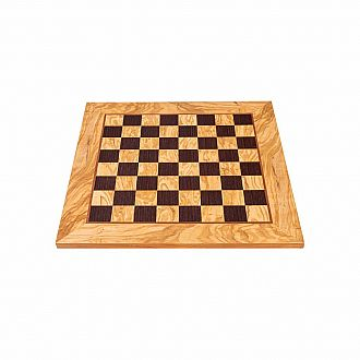 Chess Board: 16 Olive woodWenge