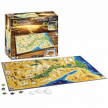 Ancient Egypt 4D Cityscape Puzzle