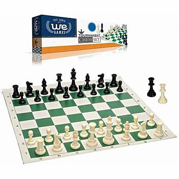 Tournament Chess w/ Travel Bag