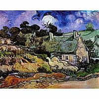 Van Gogh - The Church of Auvers Thatched