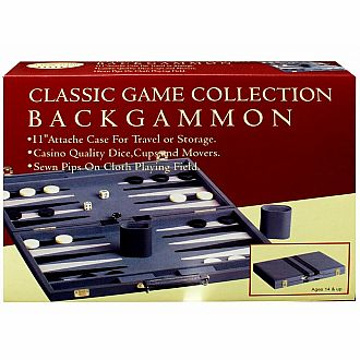 "11"" Backgammon Set"