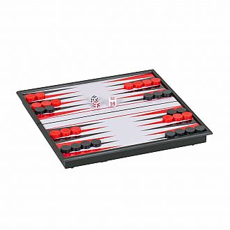 "Magnetic 8"" Travel Backgammon"
