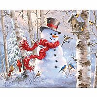 Winter Friends 1000-Piece Christmas Puzzle