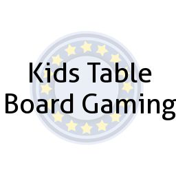 Kids Table Board Gaming